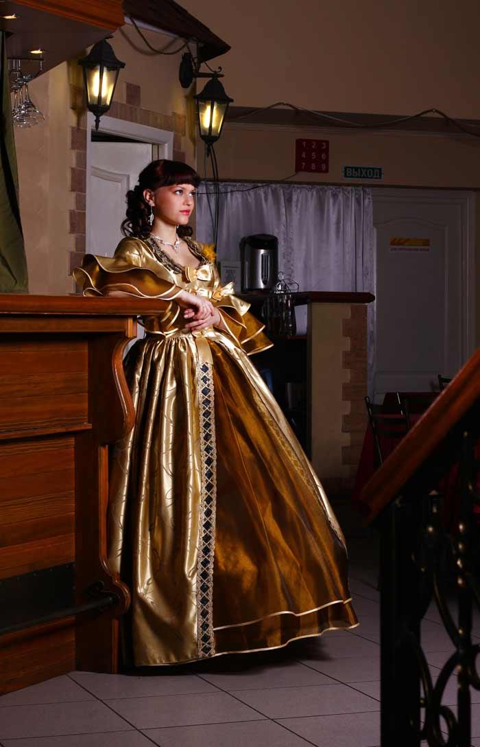 Платье мадам де Помпадур