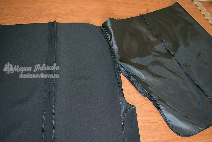 Классическая юбка на подкладке