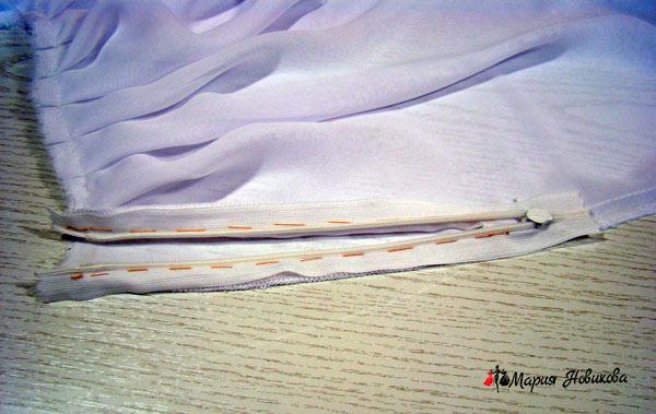 Вметанная юбка