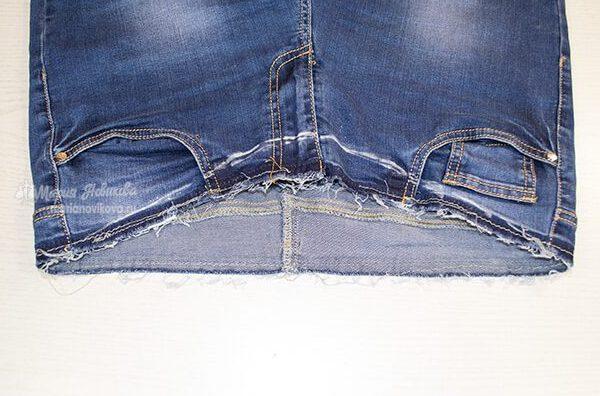 Переделать брюки для беременных своими руками