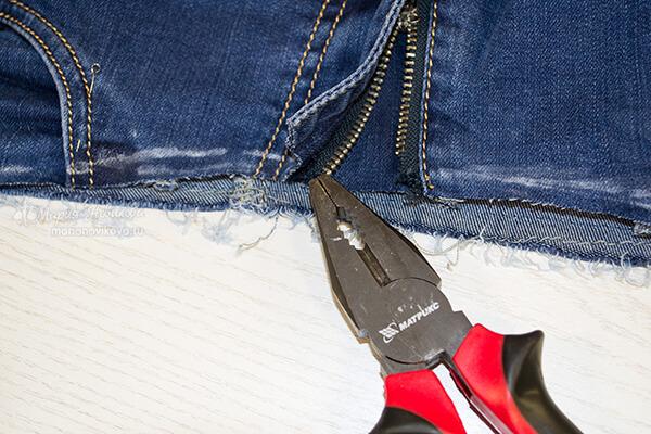 Переделать брюки на беременность