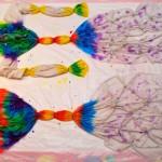 Мастер-класс: узелковое окрашивание футболки