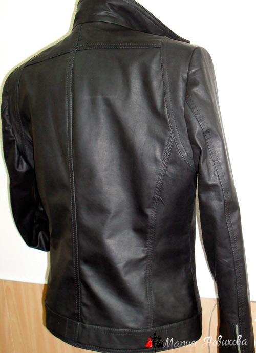 Куртка сзади