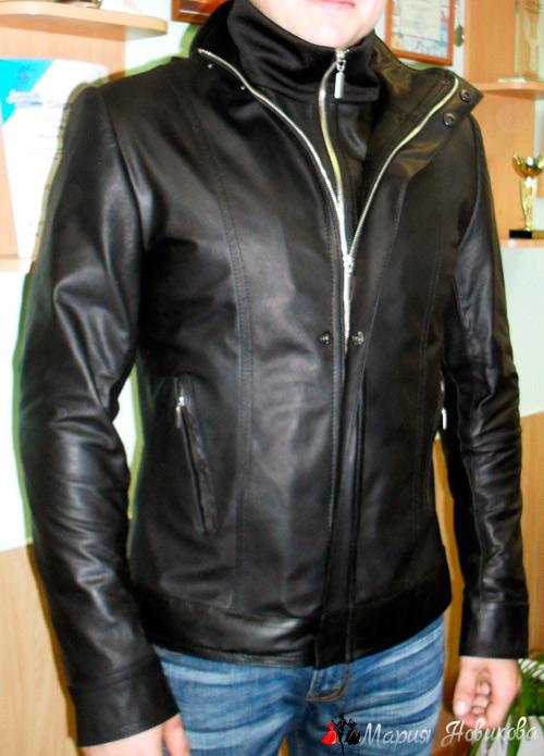 Куртка на мужчине