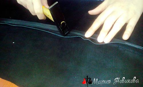 Обработка швов