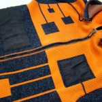 Вшивание молнии в трикотажную вязаную кофту
