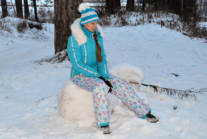Как сшить утеплённые брюки