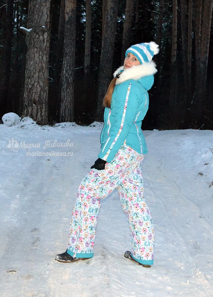 Тёплые брюки на зиму своими руками