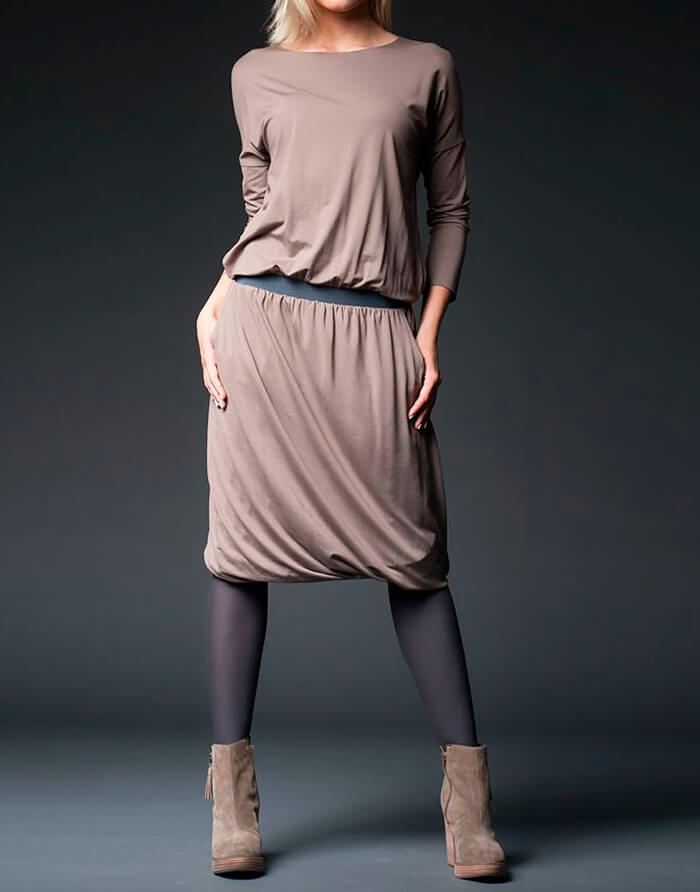 Интересный вариант платья- баллон