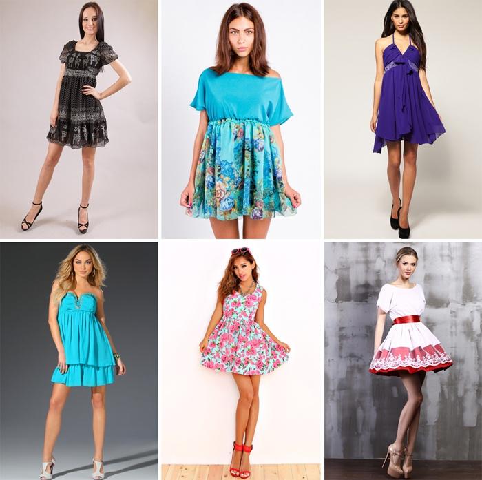 Варианты платьев беби долл