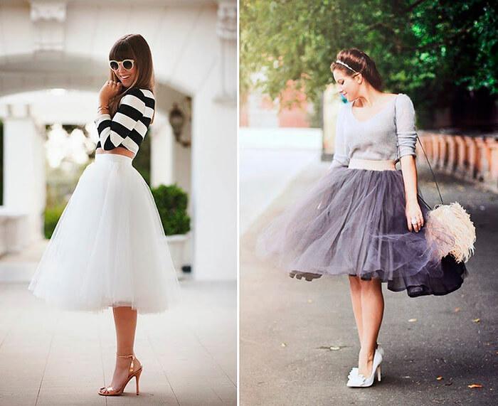 Вариации юбки-пачка