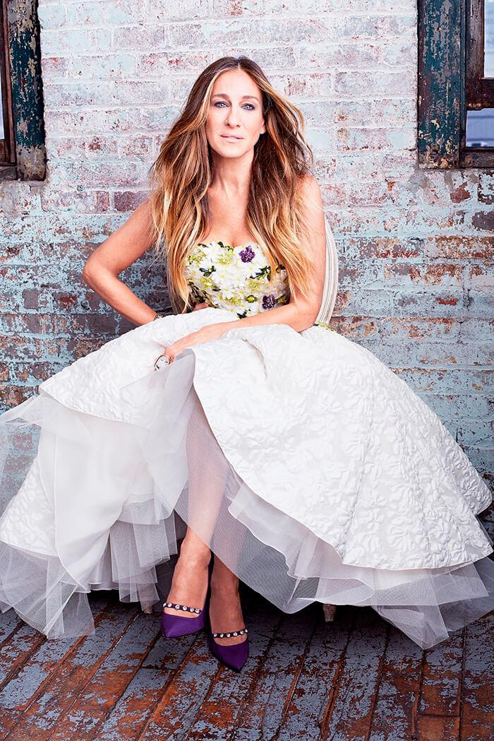 Сара Джесика Паркер в платье пачка
