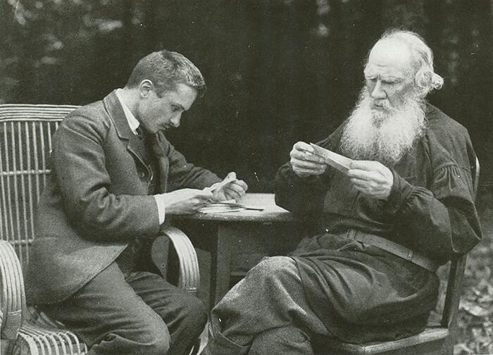 Писатель Л.Н. Толстой