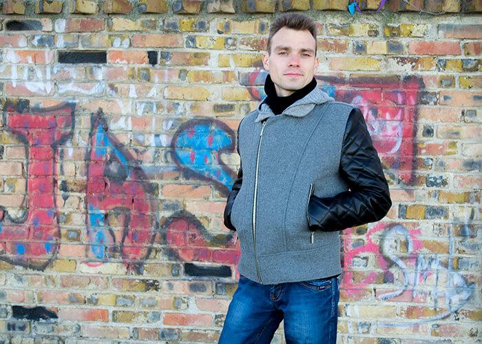 Мужская куртка косуха своими руками