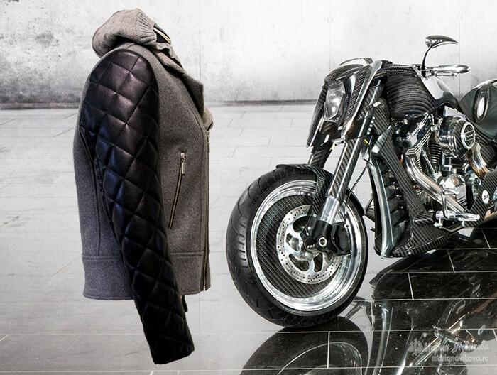 Как сшить куртку косуху из ткани своими руками