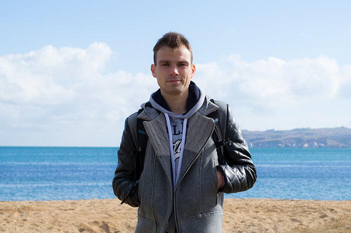 Модная мужская куртка косуха