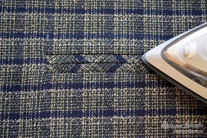 Как сшить пиджак на полных с карманами