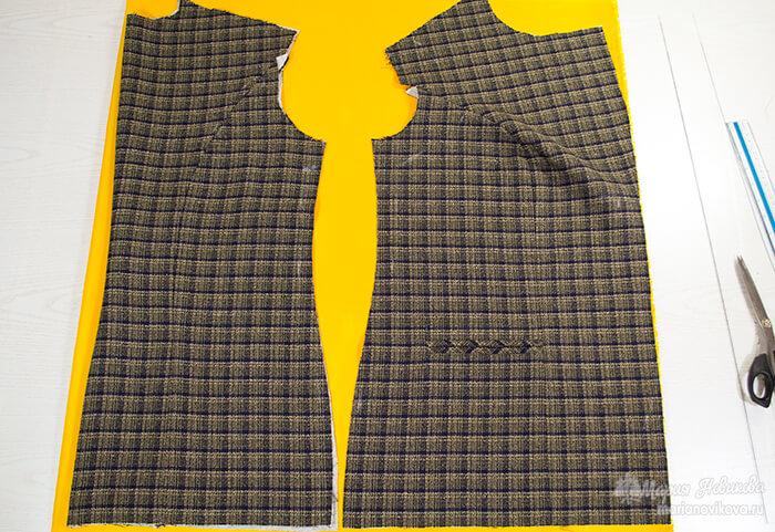 Как сшить пиджак с подкладкой