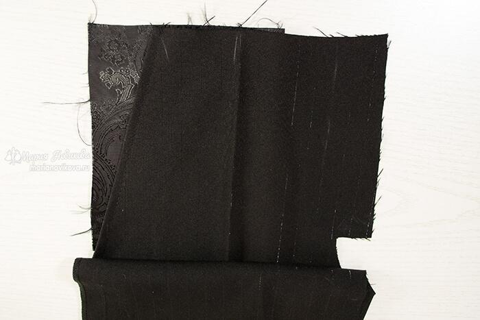 Боковой карман в мужских брюках