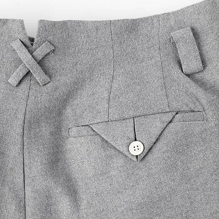 Задний карман в брюках