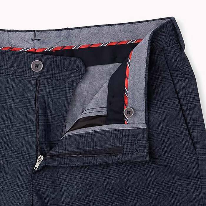 Гульфик в классических брюках