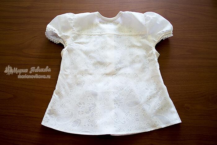 Блузка для девочки (спинка)