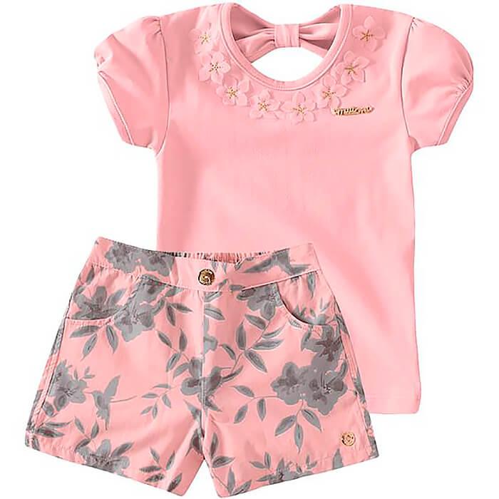 Розовая летняя блузка