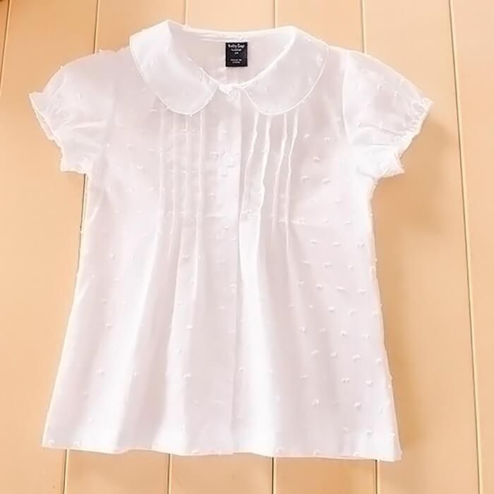 Белая, летняя блузка