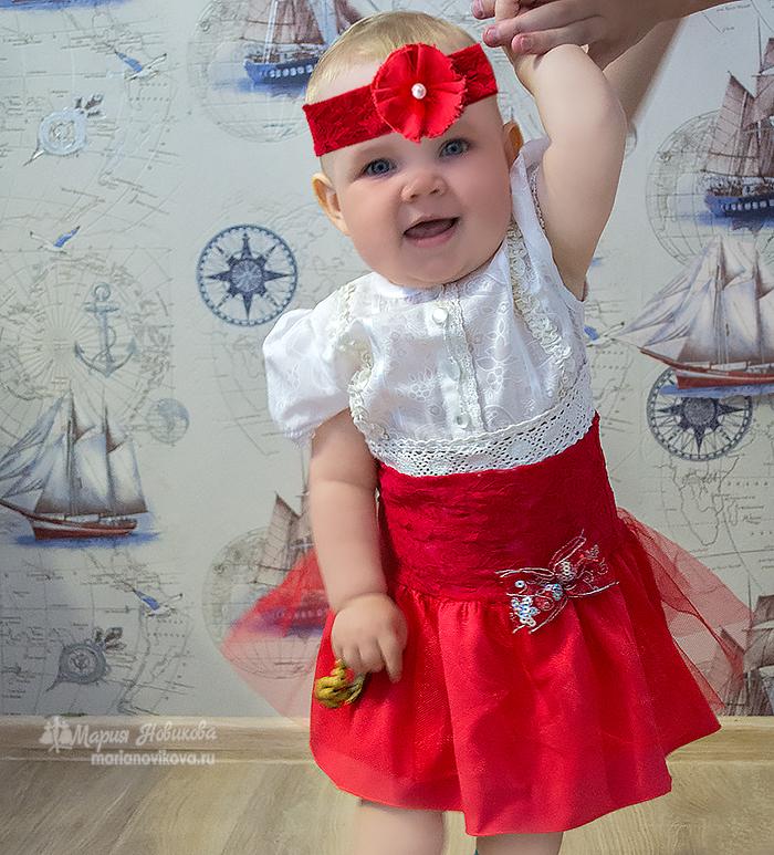 Как сшить детскую юбку для девочки