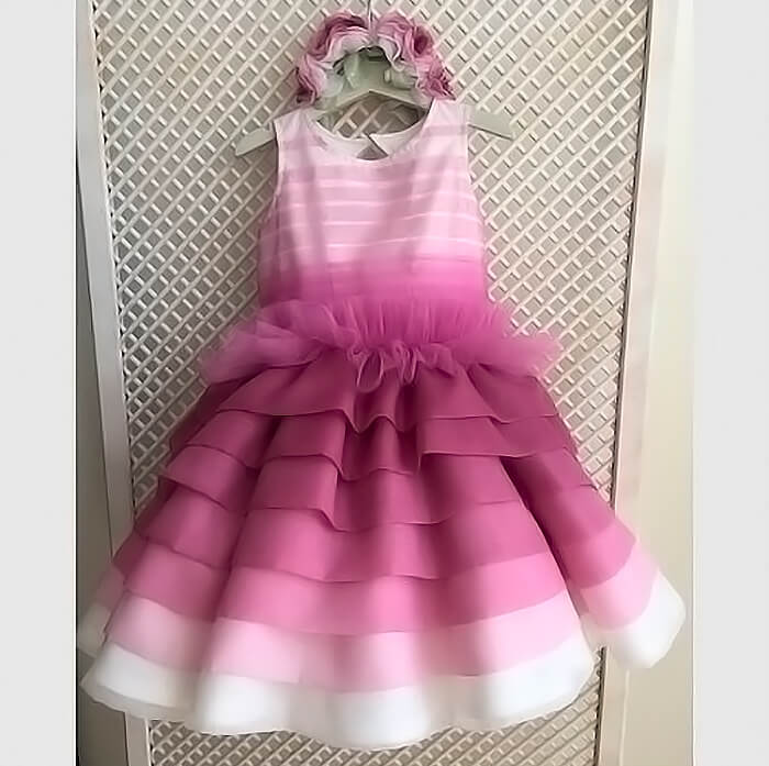 Оригинальное детское платье