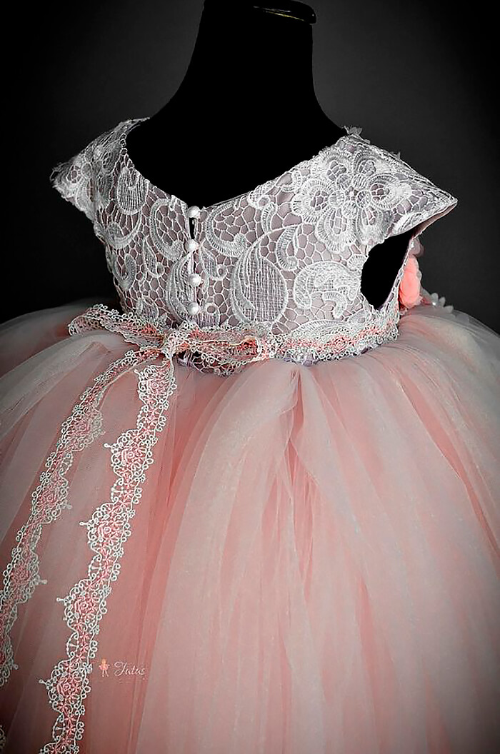 Пышная юбка из фатина на платье
