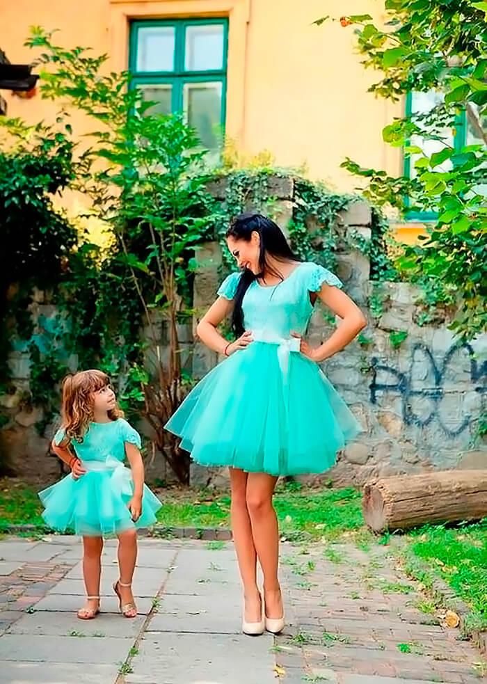 Одевайтесь с ребёнком в одном стиле