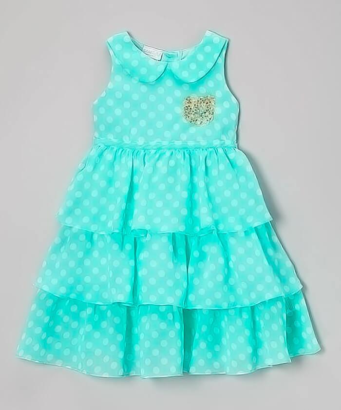 Платье с воротничком на 2-3 года