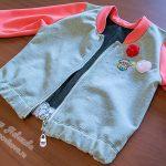 Шьём модную куртку-бомбер для девочки пошагово