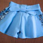Мастер-класс: как сшить детскую юбку шорты по выкройке