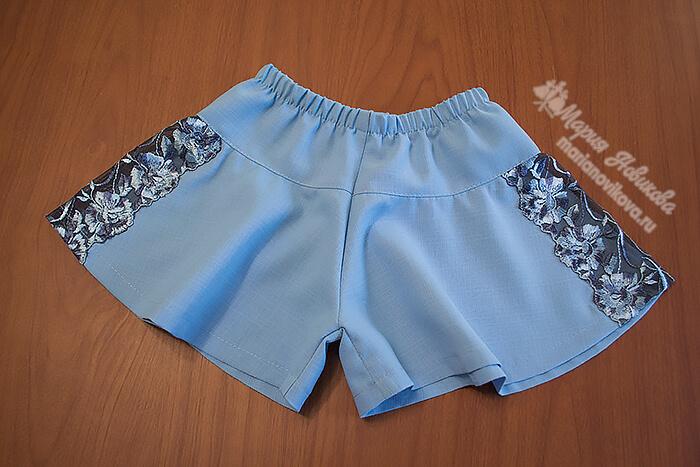 Юбка шорты для девочки 2-3 года