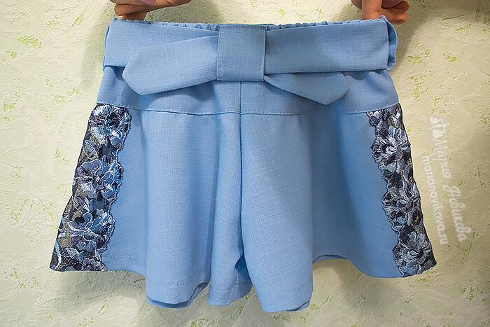 Сшить детские шорты своими руками