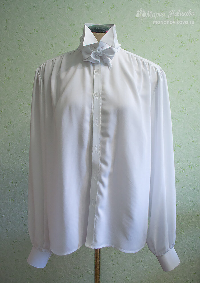 Мужская рубашка сшить самим