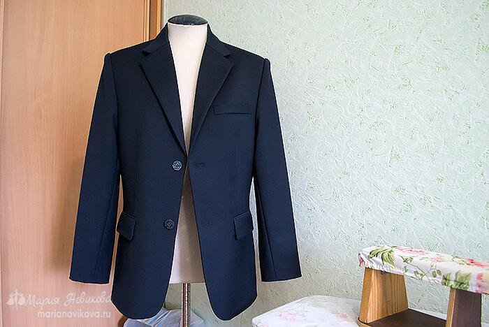 Мужской пиджак сшить просто