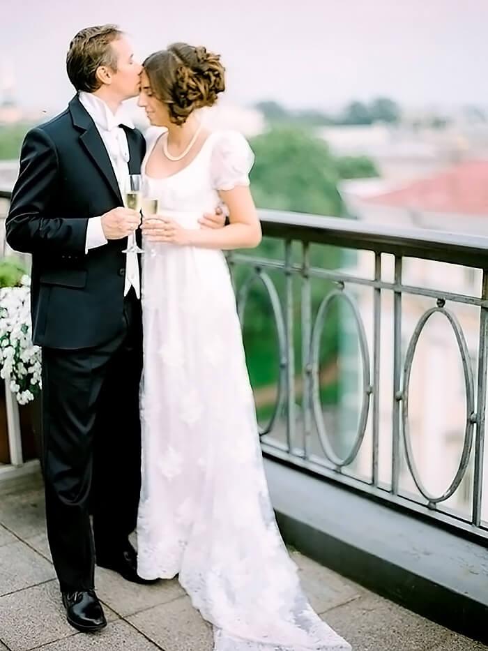 Стилизованная свадьба Сергея и Екатерины в стиле ампир